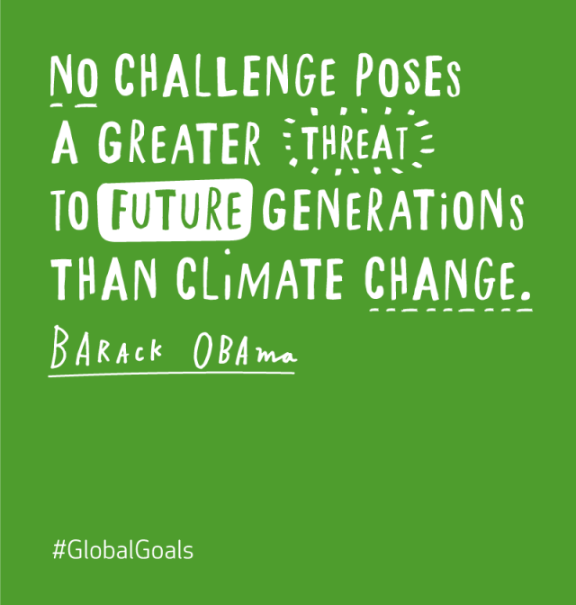 Climate Action Barack Obama Quote