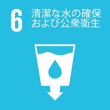 Clean Water & Sanitation Icon