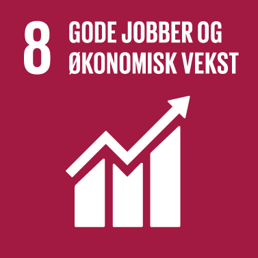 Decent Work & Economic Growth Icon
