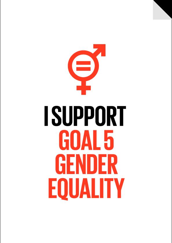 Goal 5 - Gender Equality Poster