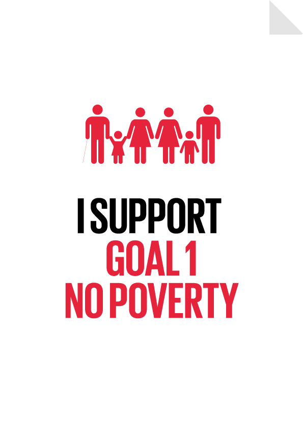 Goal 1 No Poverty Poster Preview