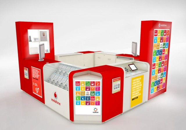Global Goals Vodaphone POS Idea 1