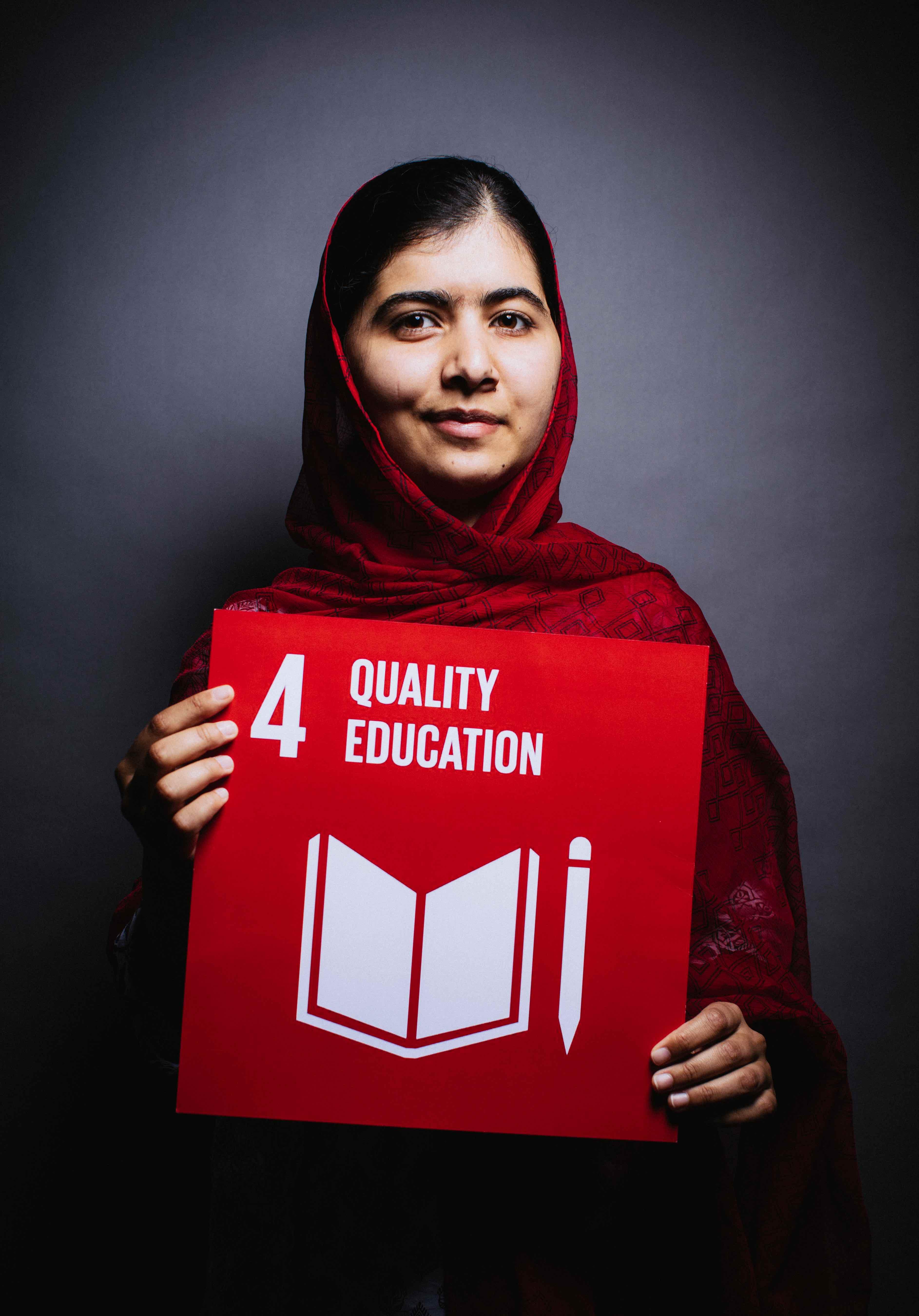Malala Yousafzai Picks Goal 4 Quality Education The Global