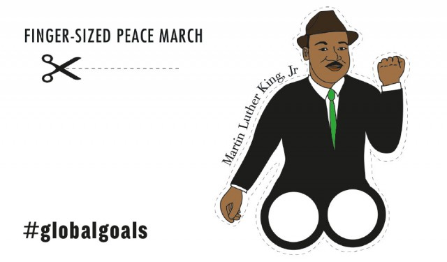 Martin Luther King Jr. dreamed of a better world. Let's tell everyone about the #GlobalGoals & make his dream a reality