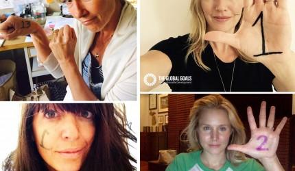 Global Goals Selfie