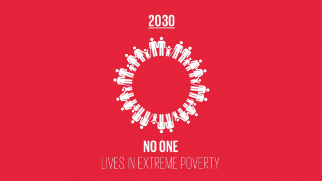 End extreme poverty